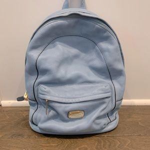 Michael Kors Baby Blue Backpack